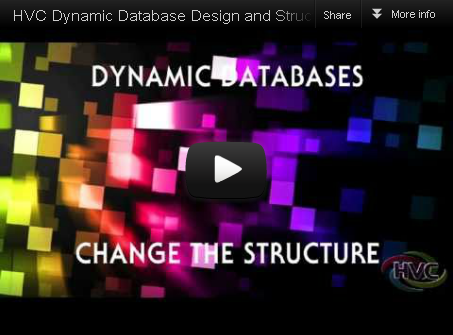 HVC Dynamic Database Design and Structure Definition